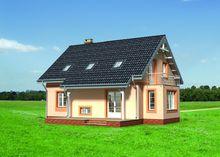 Приятного вида жилой дом на два этажа