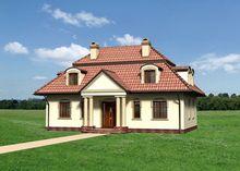 Особняк классического стиля с колоннами
