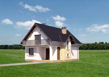 Стильный загородный особняк с четырьмя комфортными комнатами