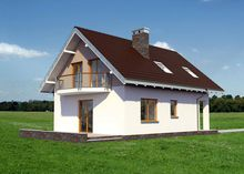 Проект загородной усадьбы с четырьмя спальнями для небольшой семьи