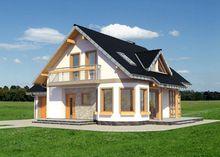 Архитектурный проект небольшого дома с площадью 150 m²