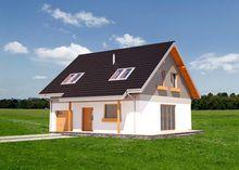 Архитектурный проект загородного дома с площадью 160 m²