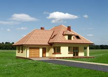 Красивая загородная вилла с семью комнатами и утонченной террасой