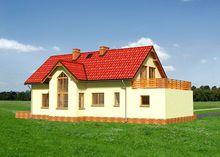 Прекрасный загородный коттедж с шестью комнатами и большой кухней