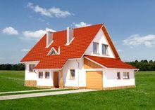 Роскошный загородный особняк с красивым дизайном