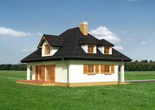 Двухэтажный жилой дом с отдельной кухней