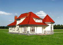 Необычный жилой дом, напоминающий замок