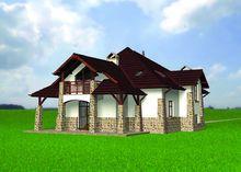 Привлекательный жилой дом - замок