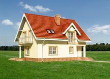 Милый дом с полукруглыми террасами