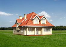 Шикарное загородное поместье с просторными комнатами