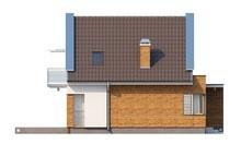 Проект небольшого классического коттеджа с современным фасадом