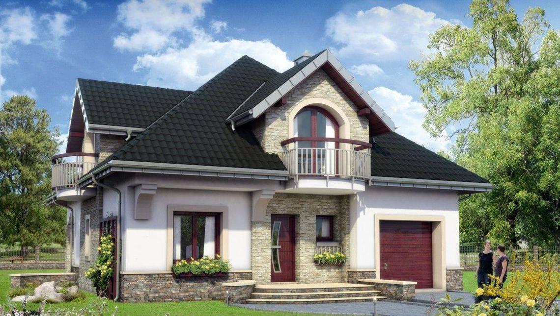 Симпатичный загородный дом с пятью спальнями и гаражом