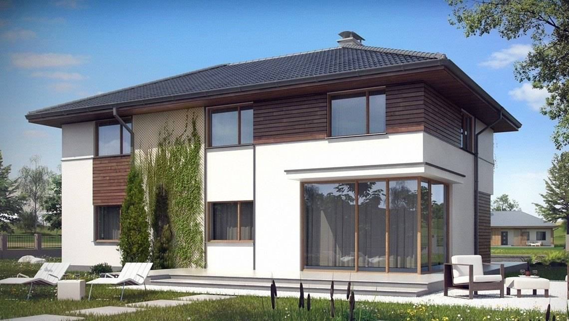 Проект двухэтажного коттеджа с дополнительными спальнями