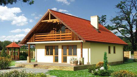 Архитектурный проект просторного и удобного коттеджа с шестью спальнями