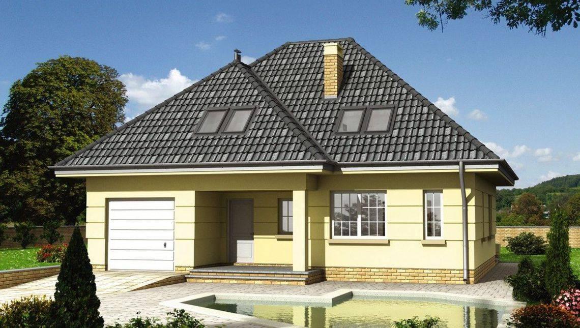 Проект загородного дома с изысканным дизайном