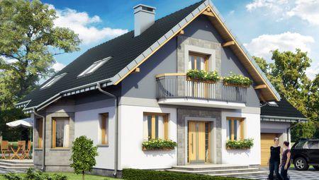 Дом с мансардой 11 на 9 площадью более 200 m²