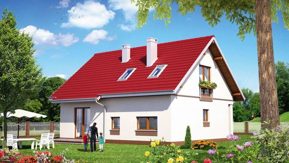 Привлекательный жилой дом жилой площадью 80 м2