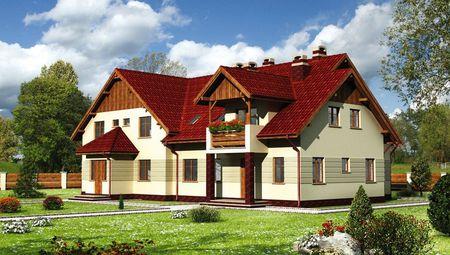 Проект великолепного особняка площадью 390 кв.м с девятью спальнями