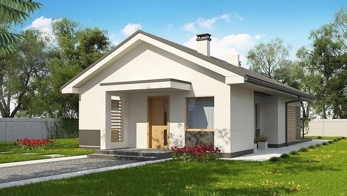 Аккуратный проект небольшого одноэтажного дома