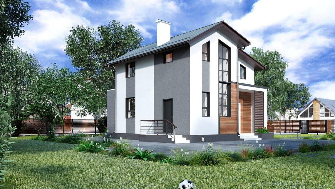 Проект уютного дома с тремя спальнями