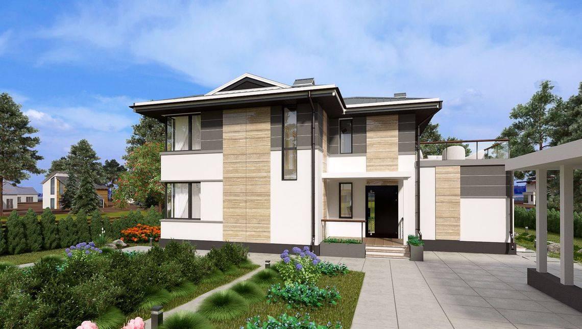 Шикарный двухэтажный коттедж с сауной и комнатой отдыха