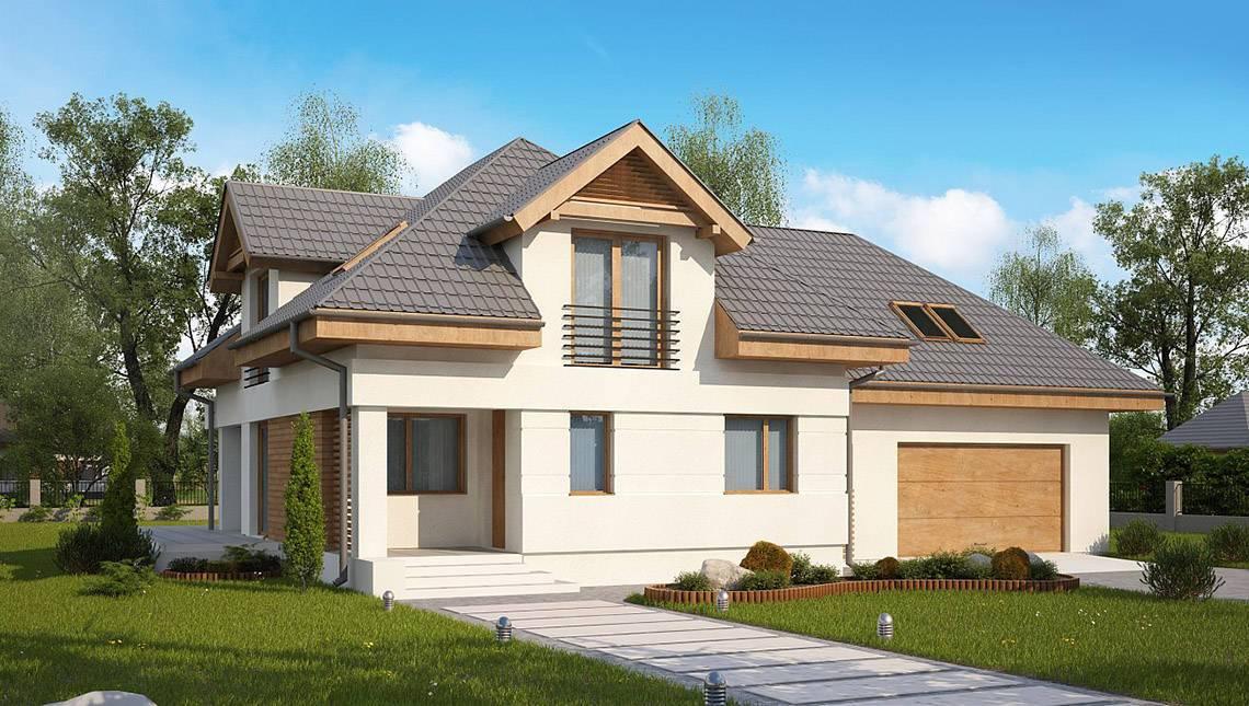Комфортный дом с просторной мансардой