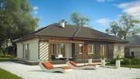 Классический одноэтажный дом