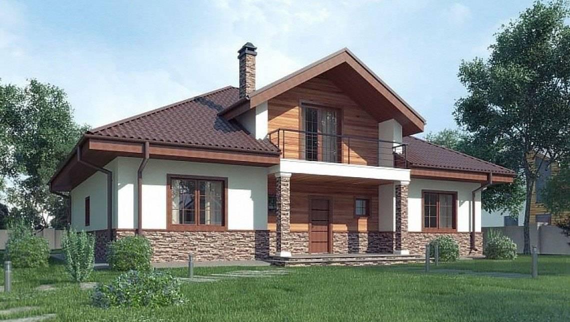 Проект для строительства дома с мансардой