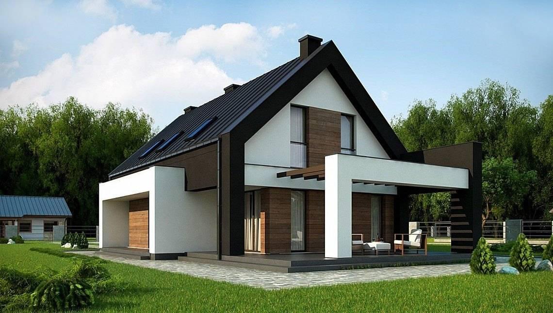 Проект для строительства компактного дома для узкого участка