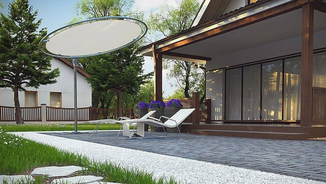 Компактный коттедж с мансардой 80 m²