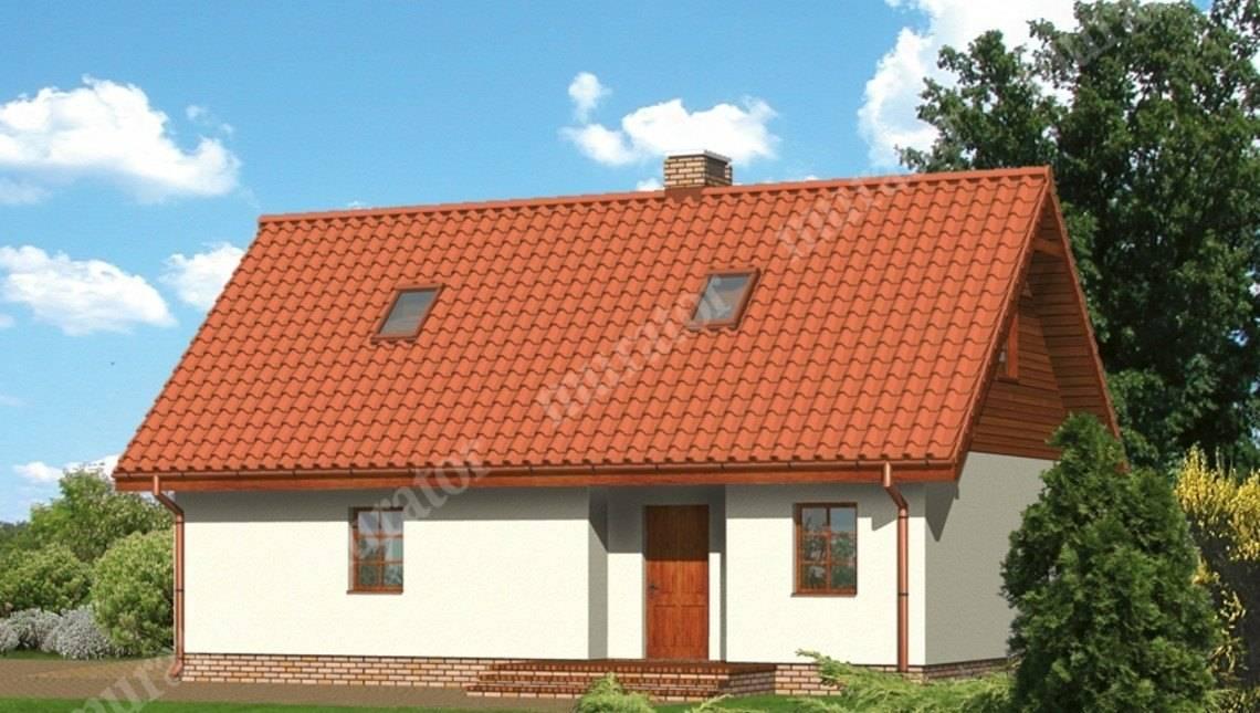 Современный гараж с жилым помещением в мансарде