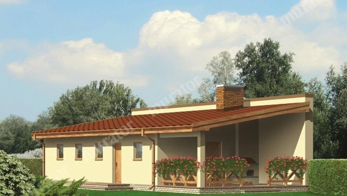 Жилой дом с гаражом на 2 авто с террасой