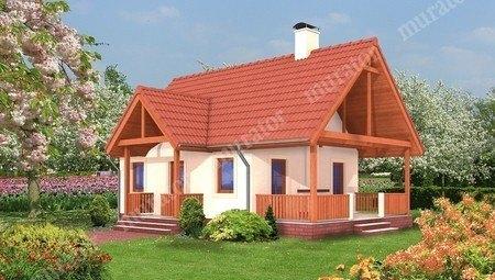Небольшой дом с 2 спальнями