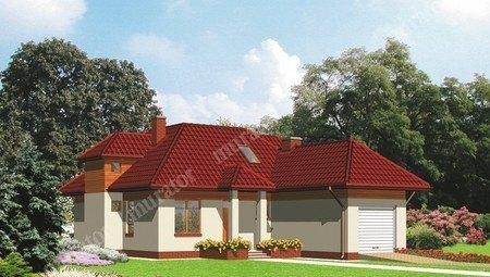 Особняк на 4 спальни с крышей сложной формы