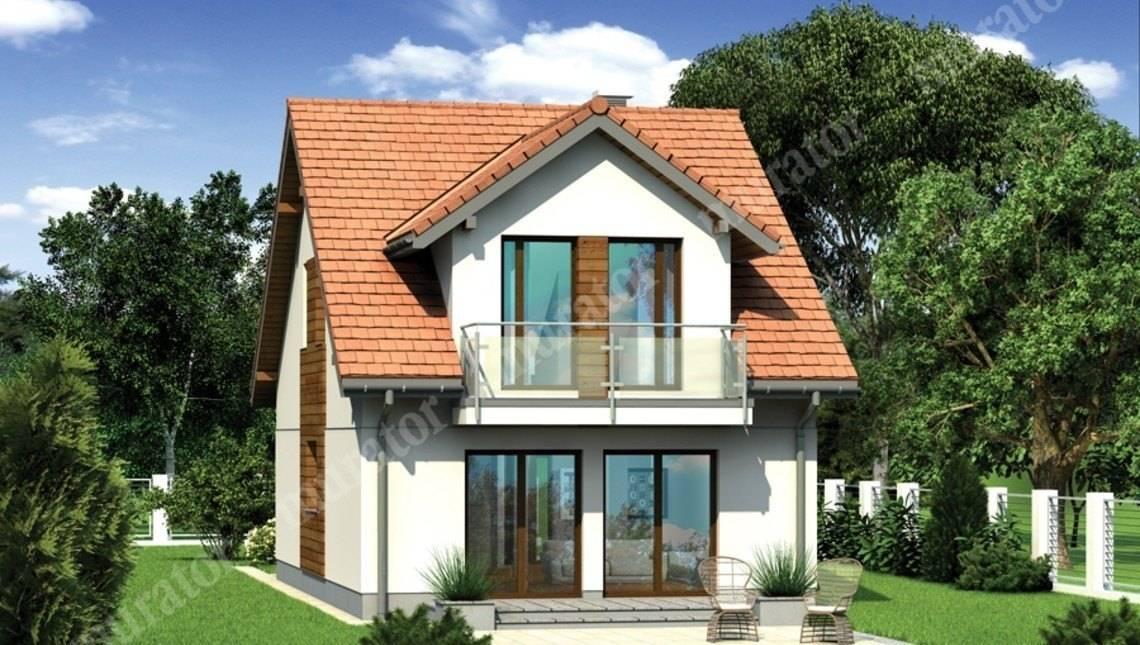 Жилой дом для узкого участка