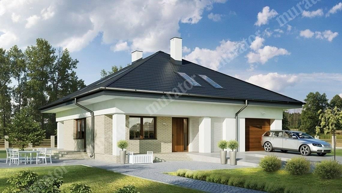 Представительный жилой дом с террасой
