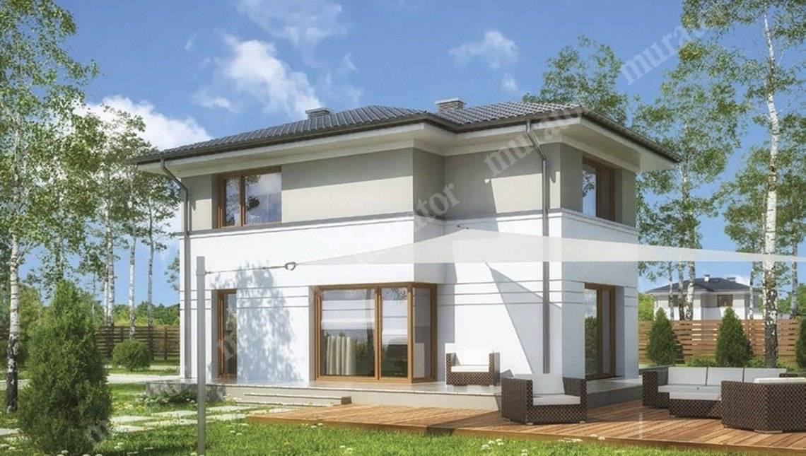 Солидное двухэтажное строение