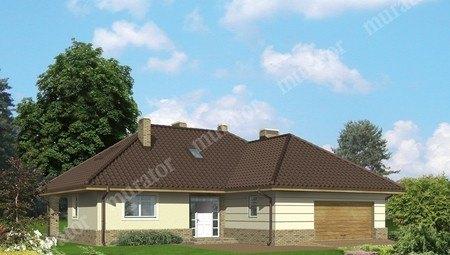 Колоритный жилой дом с мансардой