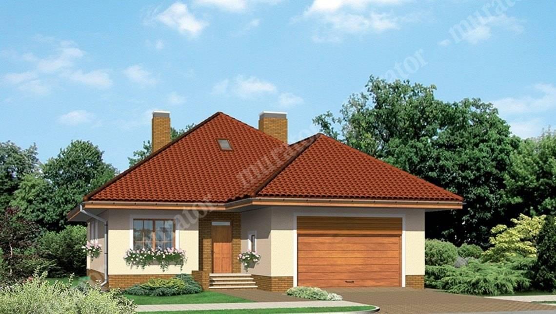Красивый дом с двумя верандами