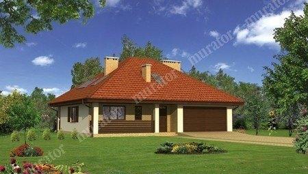 Жилой дом с мансардой и большим гаражом