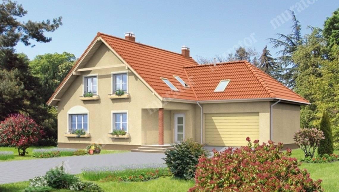 Двухэтажный жилой дом площадью 210 м2