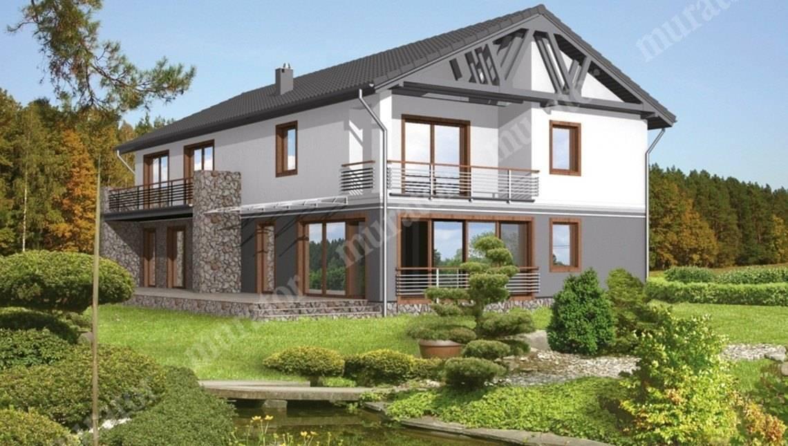 Двухэтажный дом на 8 спален