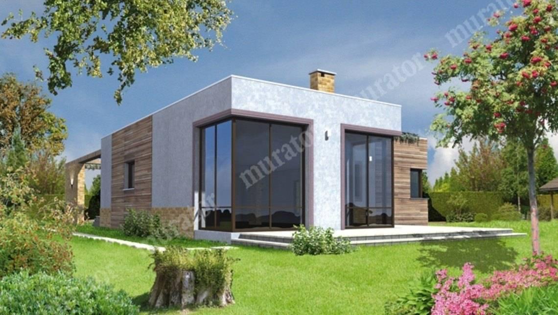 Красивый дом из кубических форм