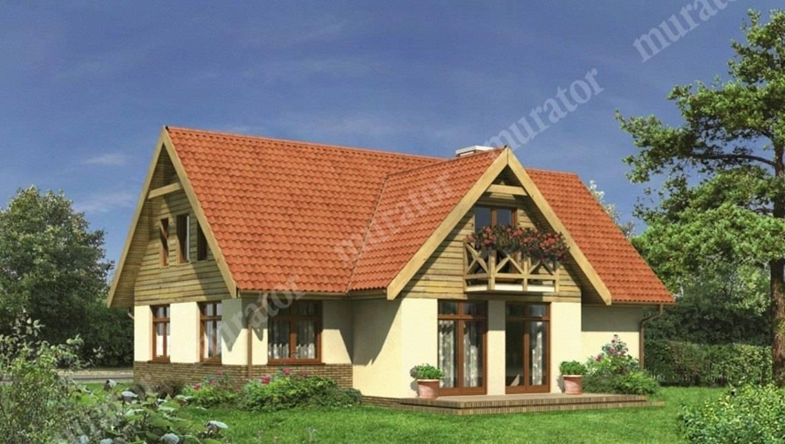 Двухэтажный привлекательный жилой дом