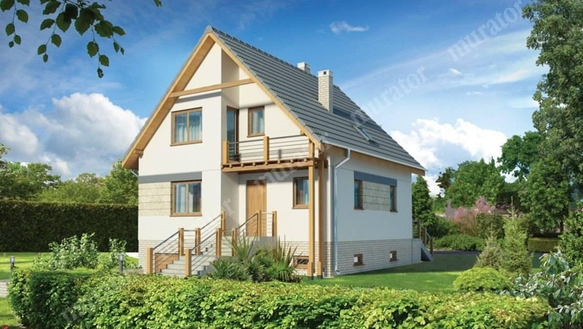 Привлекательный жилой дом с цокольным этажом