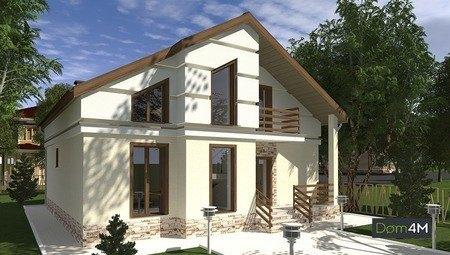 Роскошный жилой дом в светлых тонах