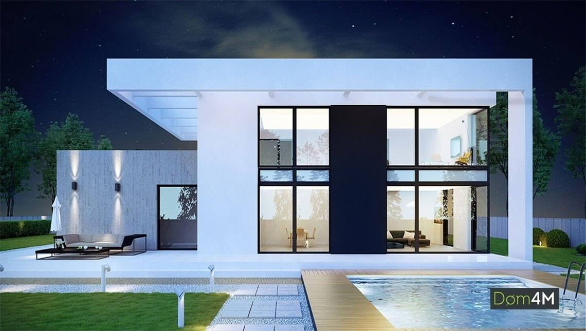 Красивый двухэтажный дом с пятью спальнями