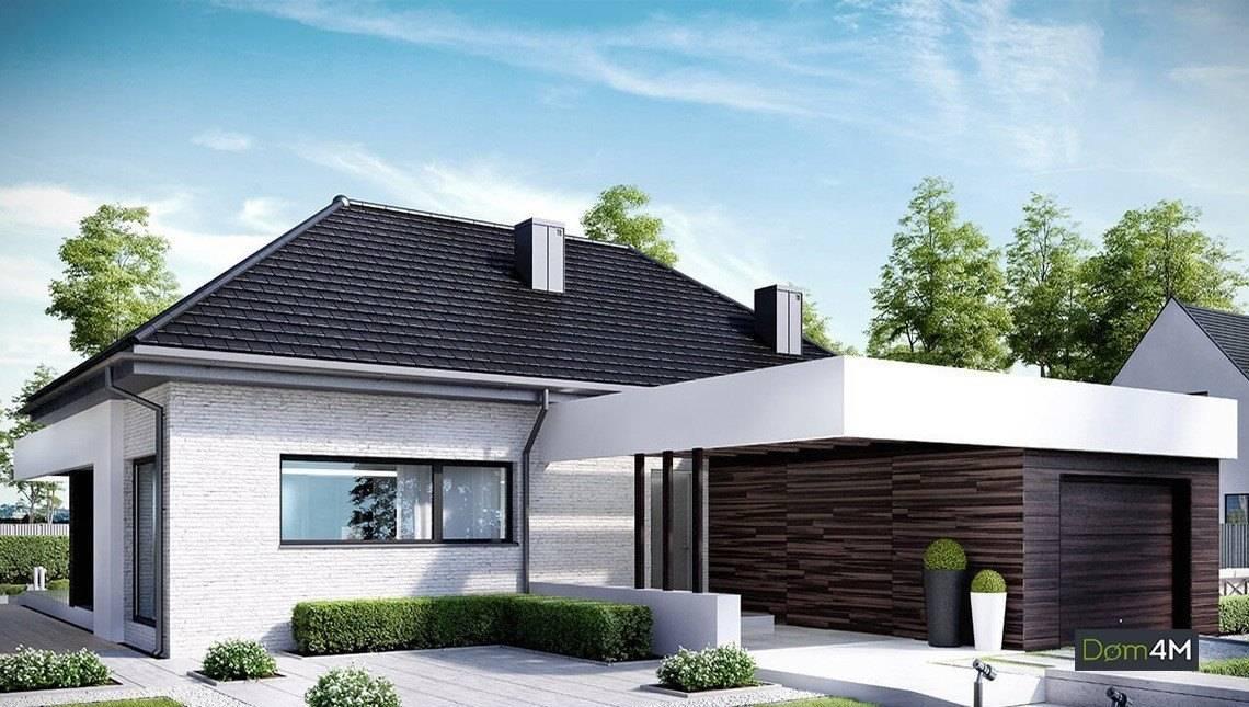 Cовременный жилой дом стильного вида