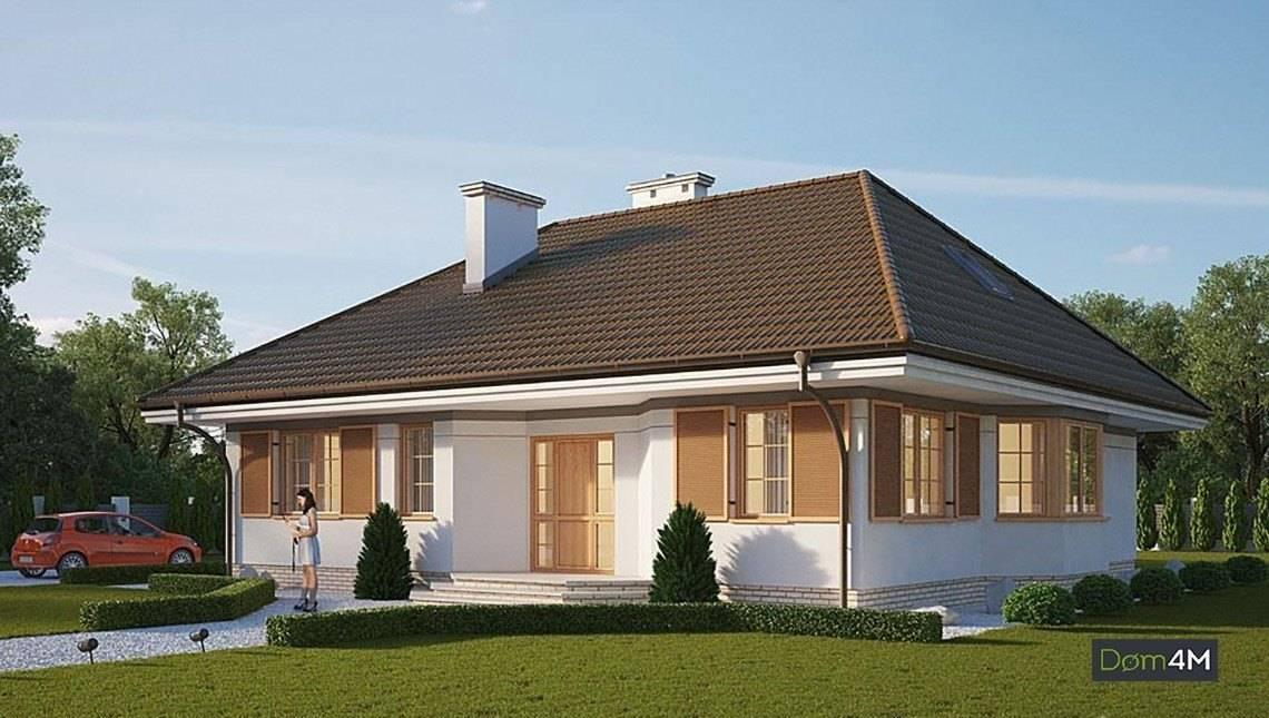 Красивый жилой дом в шоколадных оттенках