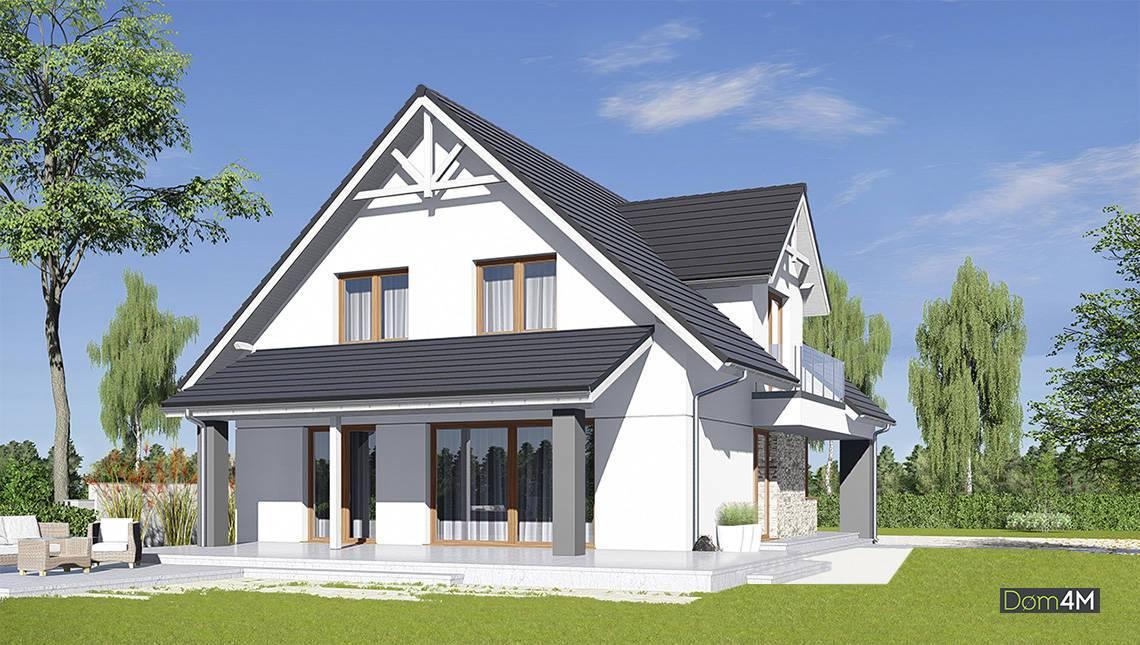 Жилой дом с просторным гаражом и тремя спальнями